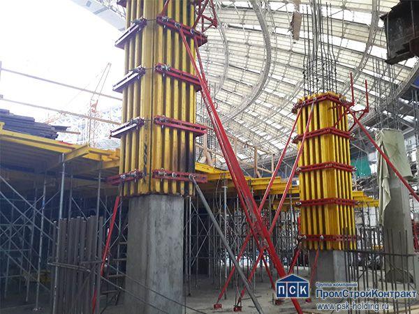 Реконструкция стадиона «Лужники» к Чемпионату Мира по футболу (Москва)