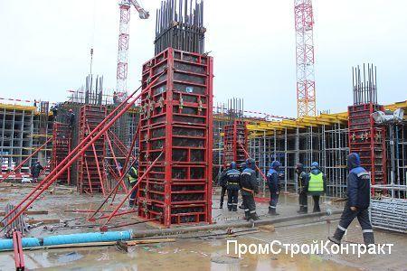 Терминал-2 и подъездные эстакады «Домодедово» (Москва)